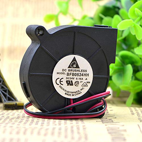 BFB0524HH 5015 24V 0.16A 5CM turbine centrifugal blower cooling fan