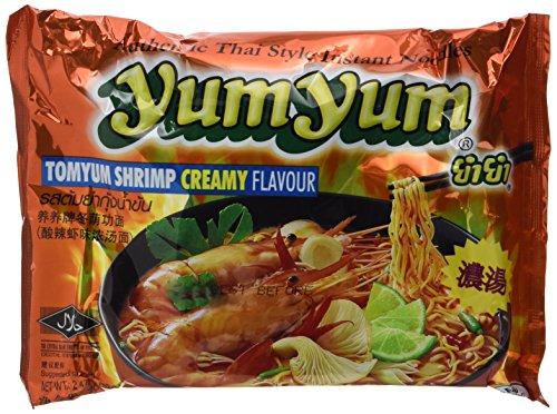 Yum Yum Instant Nudeln Garnelen-Rahm 70g, 45er Pack (45 x 70 g)