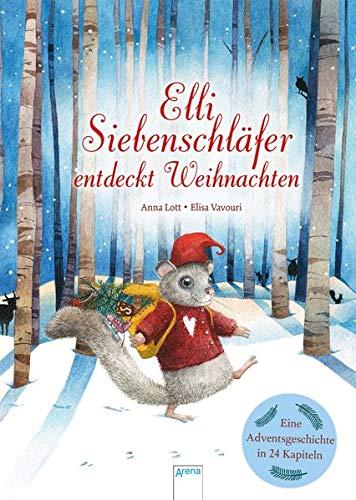Elli Siebenschläfer entdeckt Weihnachten: Eine Adventsgeschichte in 24 Kapiteln