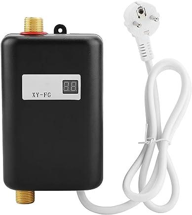 Mini calentador de agua, calentador de agua caliente instantáneo sin tanque eléctrico 3800W para baño