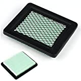 UxradG - Filtro de aire para cortacésped (para Honda GCV135/160 GC160 HRR216 17211-ZL8-023 GCV160/190, cartucho de filtro de aire), color negro