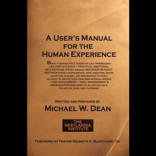 A User's Manual for the Human Experience audiobook cover art