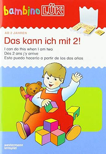 bambinoLÜK-Übungshefte: bambinoLÜK: 2 Jahre: Das kann ich mit 2!