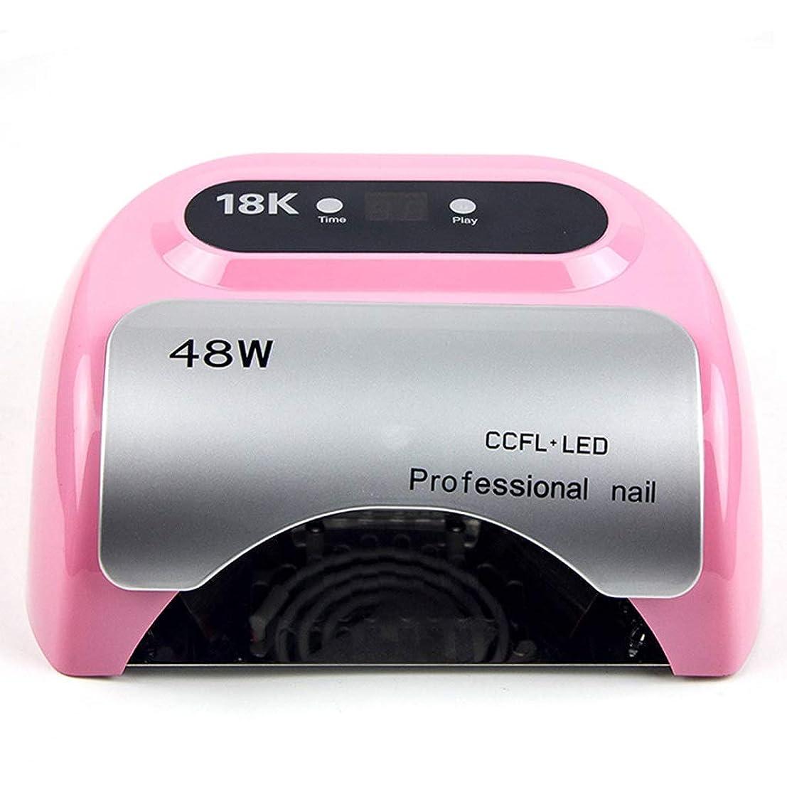 太い作り非アクティブネイル光線療法装置LED速乾性液晶タイマー多機能硬化ゲルネイルツール