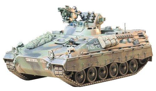 Tamiya 35162 1:35 BW SPz Marder 1A2 Milan (2), Modellbausatz,Plastikbausatz, Bausatz zum Zusammenbauen,...