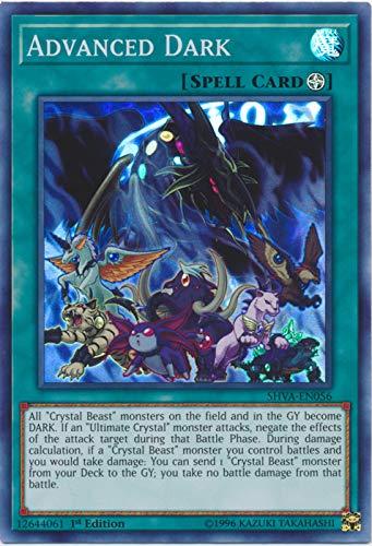 Yu-Gi-Oh! - Advanced Dark - SHVA-EN056 - Super Rare - 1st Edition - Shadows in Valhalla