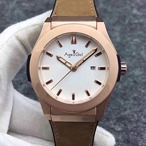 GFDSA Automatische horloges Luxe merk Herenhorloge Automatische mechanische roestvrijstalen horloges Zilver Titanium Zwart Leer Rose Goud Koffer Blauw Grijs