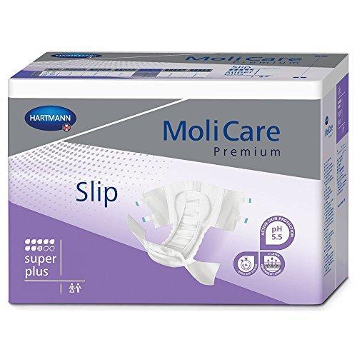 MoliCare Premium Slip Briefs, Super Plus, Medium, Case/90 (3/30s) by Molicare