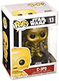 Funko - Star Wars C- 3PO Pop 10 cm Bobble Head Wac