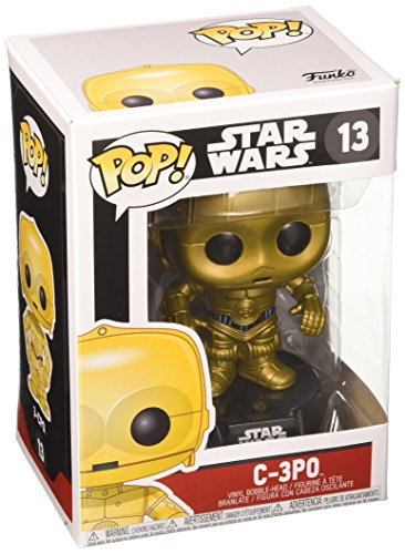 Funko- Pop Bobble Star Wars C-3PO, 2387