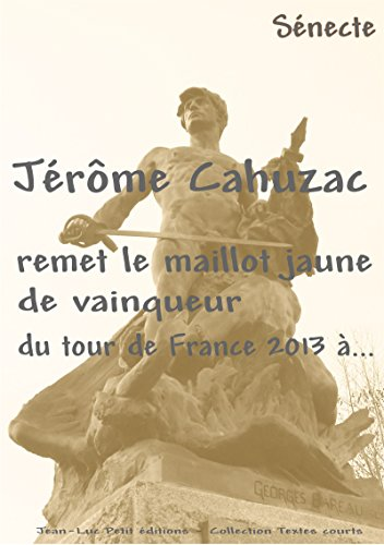Jérôme Cahuzac remet le maillot jaune de vainqueur du tour de France 2013 à...