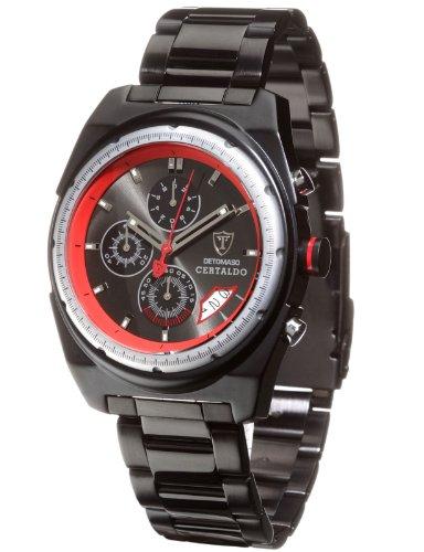DETOMASO Herren-Armbanduhr Analog Quarz SM1562C-RD