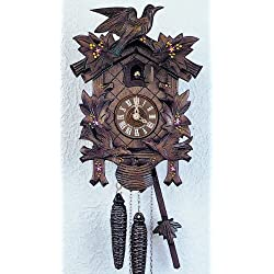 Schneider 12 Traditional Cuckoo Clock with Hand Painted Flowers