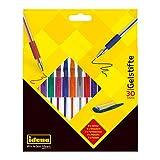 Idena 512269 - Pack de bolígrafos de gel de 5 tipos diferentes (30 unidades)