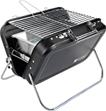 Valiant Nomad Pliante Portable Barbecue, Noir