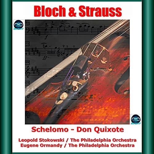Emanuel Feuermann, Samuel Lifschey, Alexander Hilsberg, Leopold Stokowski, Eugene Ormandy & The Philadelphia Orchestra