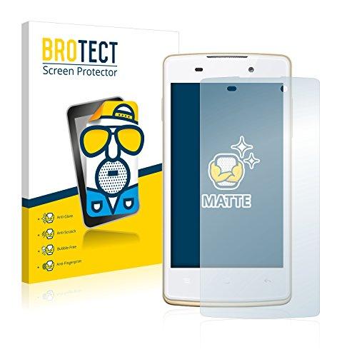 BROTECT 2X Entspiegelungs-Schutzfolie kompatibel mit Oppo Joy Plus Bildschirmschutz-Folie Matt, Anti-Reflex, Anti-Fingerprint