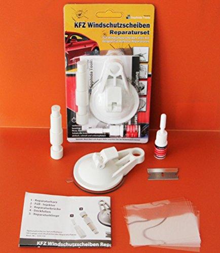 KFZ Steinschlag Windschutzscheibe Reparatur Set + Anleitung