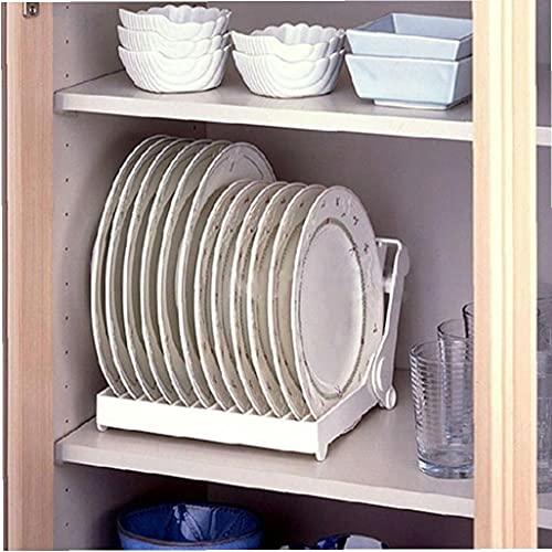Froiny Cocina Plegable De Dish Tendedero Organizador del Sostenedor del Escurridor De Plástico De Almacenamiento