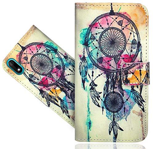 HülleExpert Wiko Y60 Handy Tasche, Wallet Hülle Flip Cover Hüllen Etui Hülle Ledertasche Lederhülle Schutzhülle Für Wiko Y60