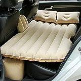 Sinbide Auto Materasso Gonfiabile per Il Sedile Posteriore Auto con Air Pump (Beige)