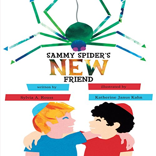 Sammy Spider's New Friend audiobook cover art