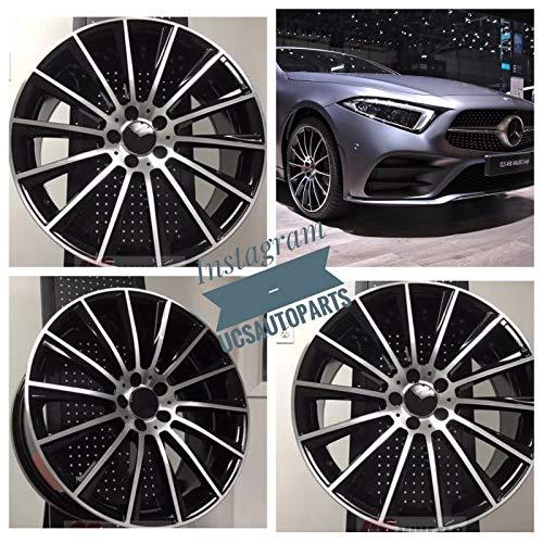 New 18 inch Wheel Rims STAG S AMG Turbine Style Black Machine Compatible With Mercedes Benz E CLASS E500 E550