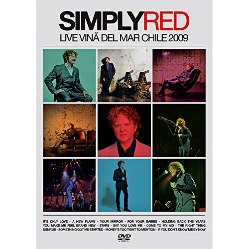 DVD Simply Red - Live Vina Del Mar Chile 2009