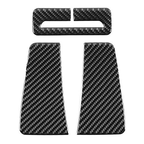 RJJX Auto-Sicherheitsgurt-Platten-Aufkleber Rahmen-Innenausstattung Sitz for Dodge-Challenger 2015-2020 Zubehör (Color : As pic)