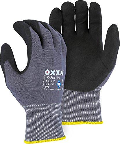 Majestic Glove 51-290 L OXXA NFT Max 61% OFF Large New life X-Pro-Flex Gloves Gray