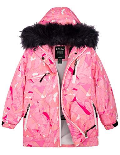 LEGO Wear Kids /& Baby Tec Fleece-Lined Waterproof /& Windproof Snow// Ski Jacket with Chin Guard Protector /& Faux Fur Lined Hood