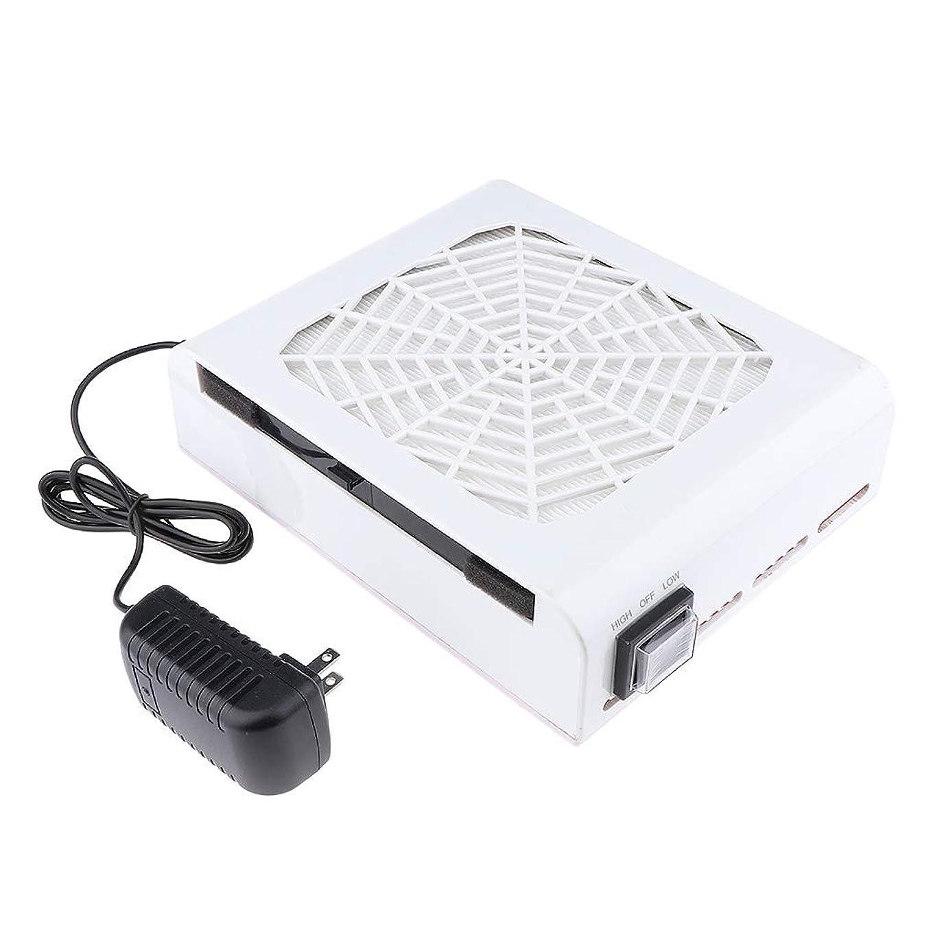 科学的依存するドループB Blesiya 48W ネイルダストコレクター ネイルフィルター 高品質 プロ ネイルサロン