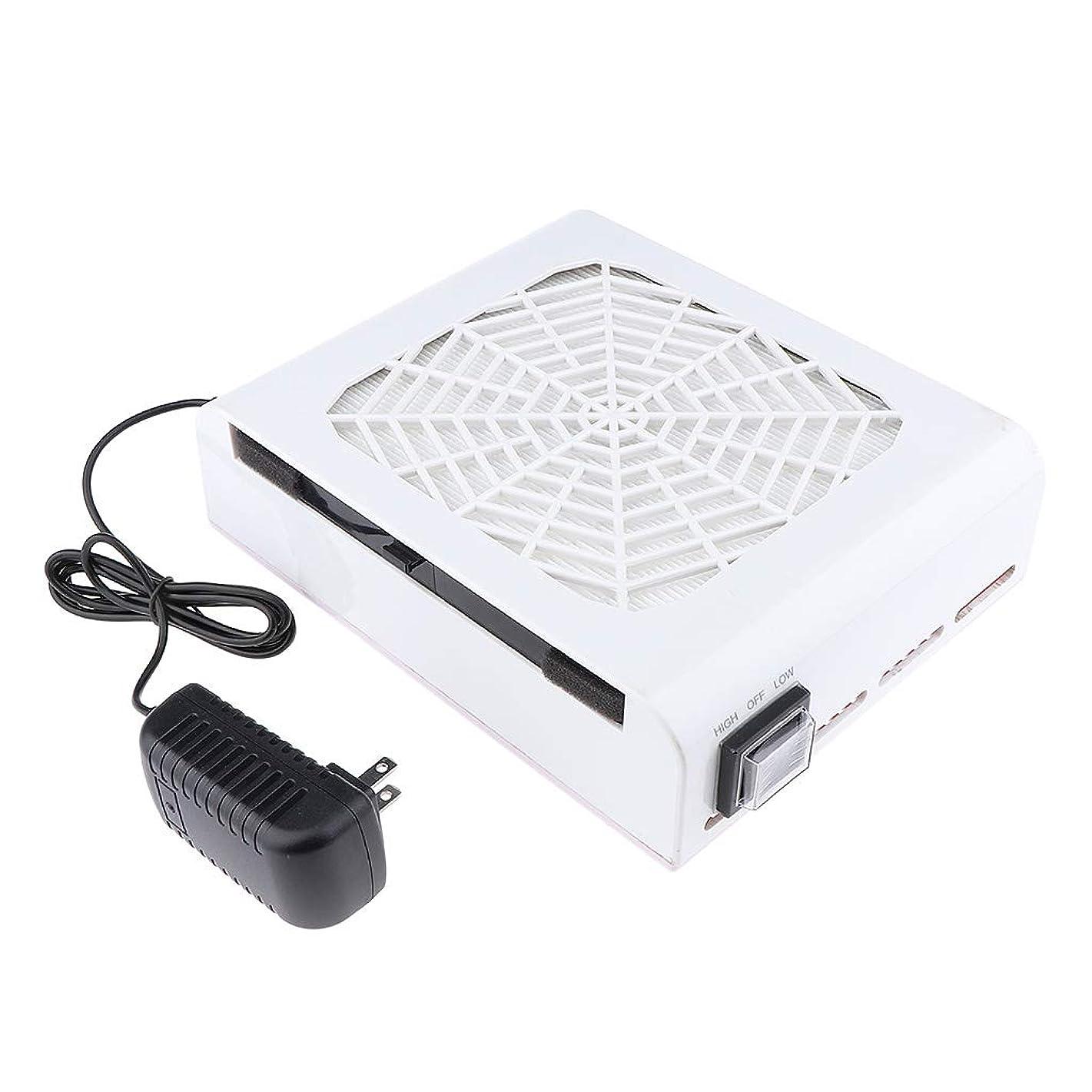 無知苦しめる電卓B Baosity 48W ネイルダストコレクター ネイルアート ネイルダスト 電動 塵収集