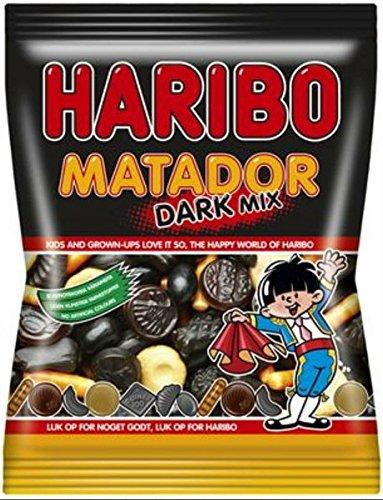 10 x HARIBO MATADOR DARK MIX 375g Incl. Goodie von Flensburger Handel