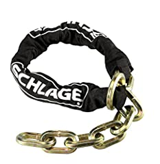 "Cinch Chain | 3' 3"" Cinch Ring Security Chain 3' 3''chain has 1/2"" triple heat treated manganese steel links This security chain is designed for use in high risk locations Resists attacks from bolt cutters, saws, hammers and chisels Cinch ring design..."