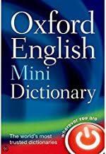Oxford English Mini Dictionary 8th Edition by Engels - Paperback