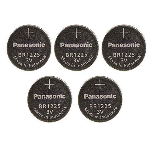 Panasonic BR1225 Lithium-Knopfzelle (3 V), 5 Stück
