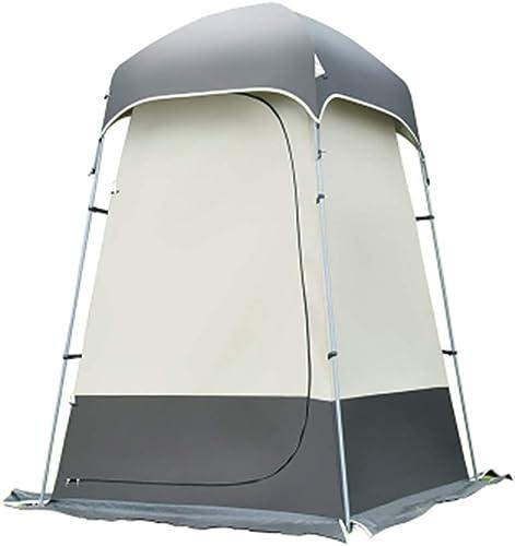 YLFC Tente Douche Camping, Pop UpTente de Douche Pop Up Toilette Cabinet de Changement Camping Abri de Plein Air Vestiaire Extérieure Intérieure Portable(140  140  220CM)