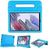 ProCase Funda Infantil para Samsung Galaxy Tab A7 Lite 8,7' 2021, Estuche Antigolpes con Asa, Carcasa Súper Protectora Ligera para Galaxy Tab A7 Lite 8.7 2021 SM-T220 T225 T227 –Azul