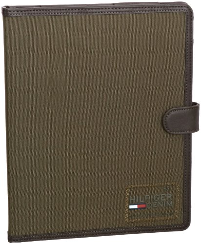 Tommy Hilfiger Mens Jaxon Ipad Cover Wallet Dusty Olive