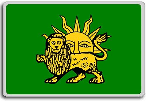 Vlag na Ismail II (1576-1732), Safavid dynastie, Historische vlaggen van Iran koelkastmagneet