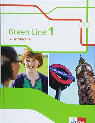 Green Line 1. 2. Fremdsprache: Schülerbuch Klasse 6 (Green Line. Ausgabe 2. Fremdsprache ab 2018)