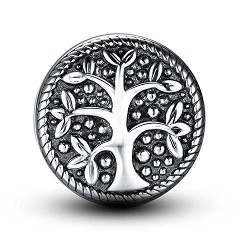 Abalorio de plata de ley 925 para pulseras Pandora