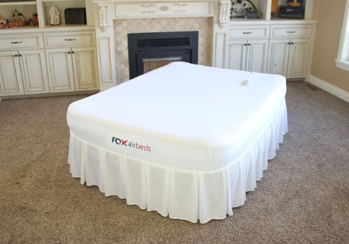 Hot Sale Memory Foam Signature Air Mattress with Bed Skirt and Protective Cover By Fox Air Beds