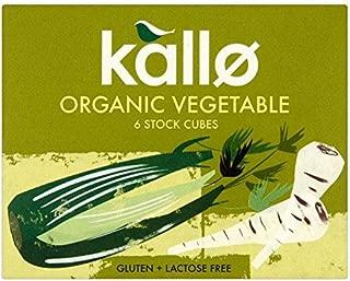 Kallo Organic Vegetable Stock Cubes - 6 x 10g