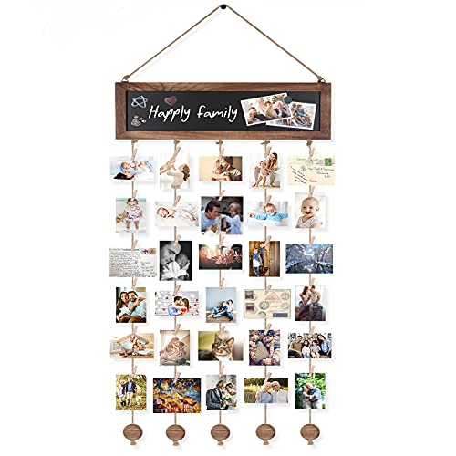 58. Hanging Photo Display - 30 Clips