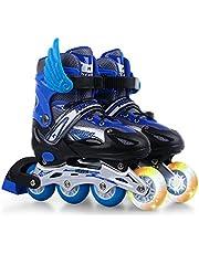 Roller Skates الأطفال Flash Inline Skates قابل للتعديل Roller Skates أحذية التزلج