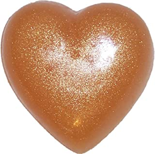 Heart Soap, Strawberries And Cream, Gold