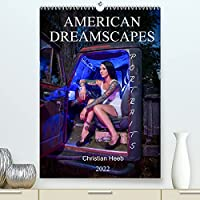 """American Dreamscapes Portraits (Premium, hochwertiger DIN A2 Wandkalender 2022, Kunstdruck in Hochglanz): Christian Heeb fotografiert die Menschen Amerikas am Rande der Stadt in anregenden """"Americana"""" Motiven wie aus einem Tarantino Film. (Monatskalender, 14 Seiten )"""