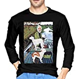 KellySotoUS Goodfellas Painting Mans Long Sleeve T Shirt Graphic Tee Cotton Casual Shirt XL Black
